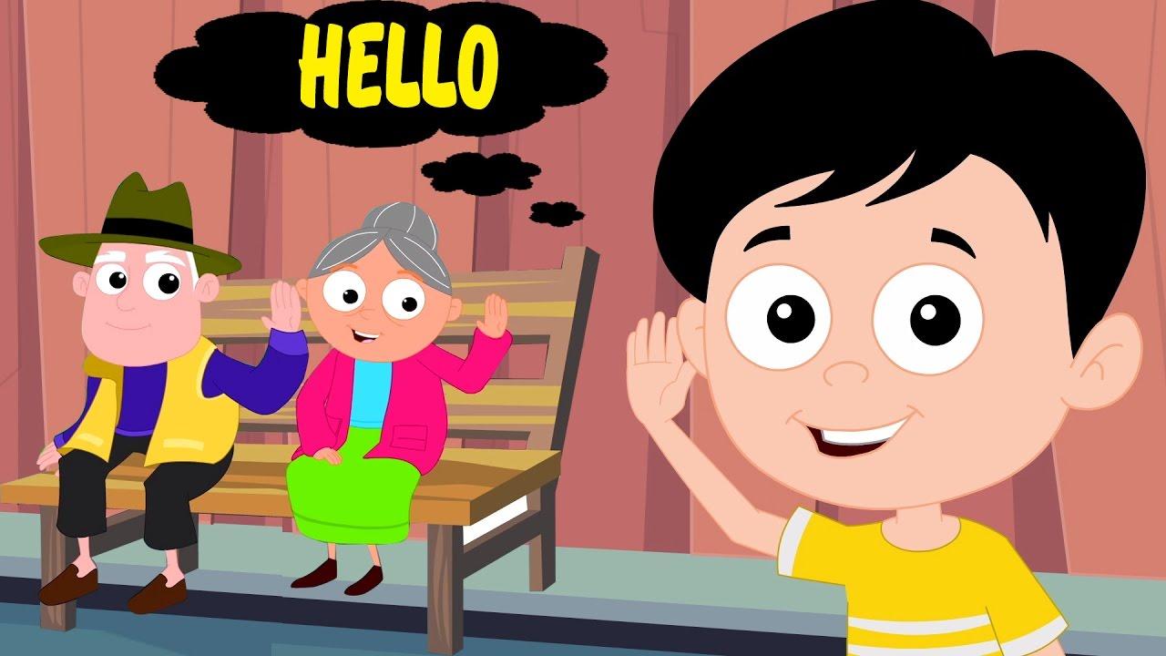 Bonjour Chanson | Comptines Pour Enfants | Musique Pour Enfants | Toddlers  Song | Hello Song encequiconcerne Chanson Pour Bebe 1 An