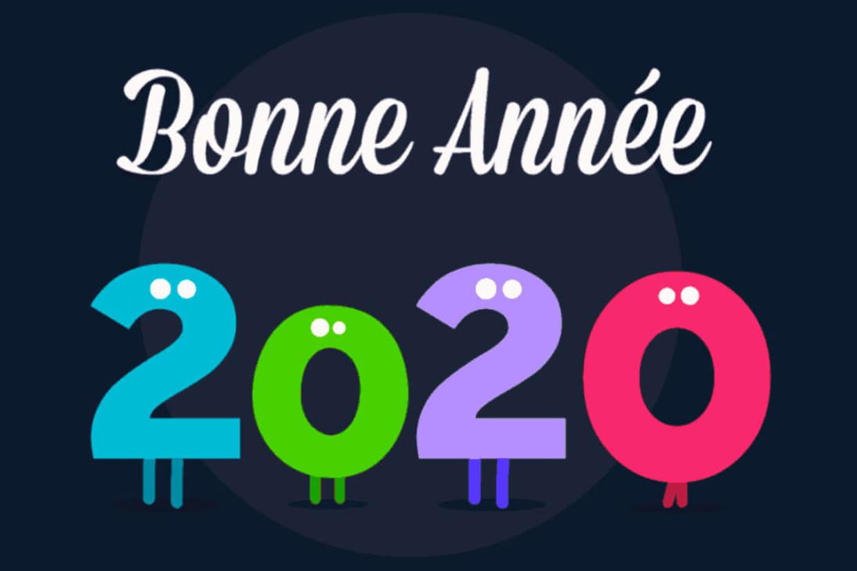 Bonne Année 2020 : Cartes, Textes, Images, Gif Tout Pour concernant Poeme Voeux Nouvel An