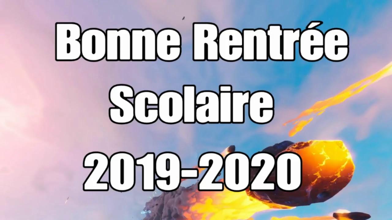 Bonne Année Scolaire 2019-2020 avec Image Bonne Rentrée Des Classes
