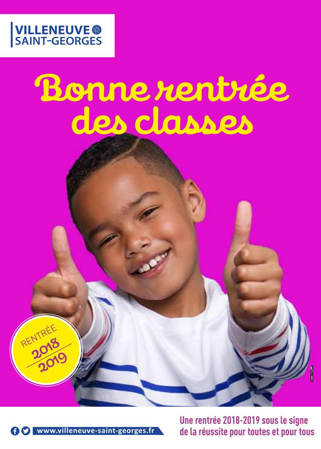 Bonne Rentrée Des Classes By Ville De Villeneuve-Saint destiné Image Bonne Rentrée Des Classes