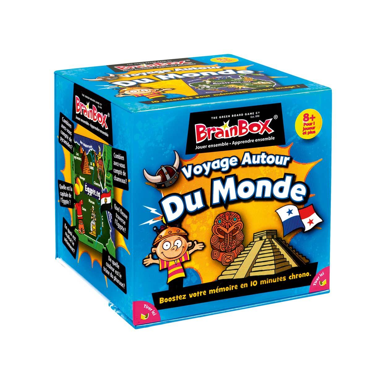 Brainbox Voyage Autour Du Monde serapportantà Jeux De Memoire Enfant