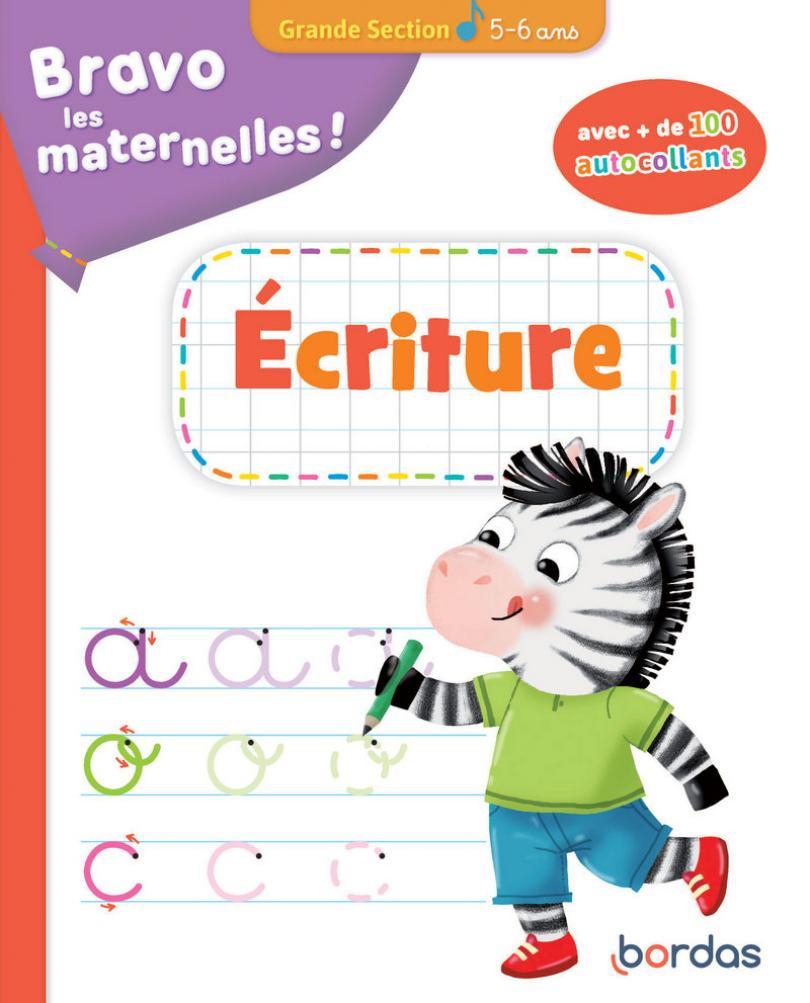 Bravo Les Maternelles - Ecriture Grande Section + destiné Fiche D Exercice Grande Section A Imprimer