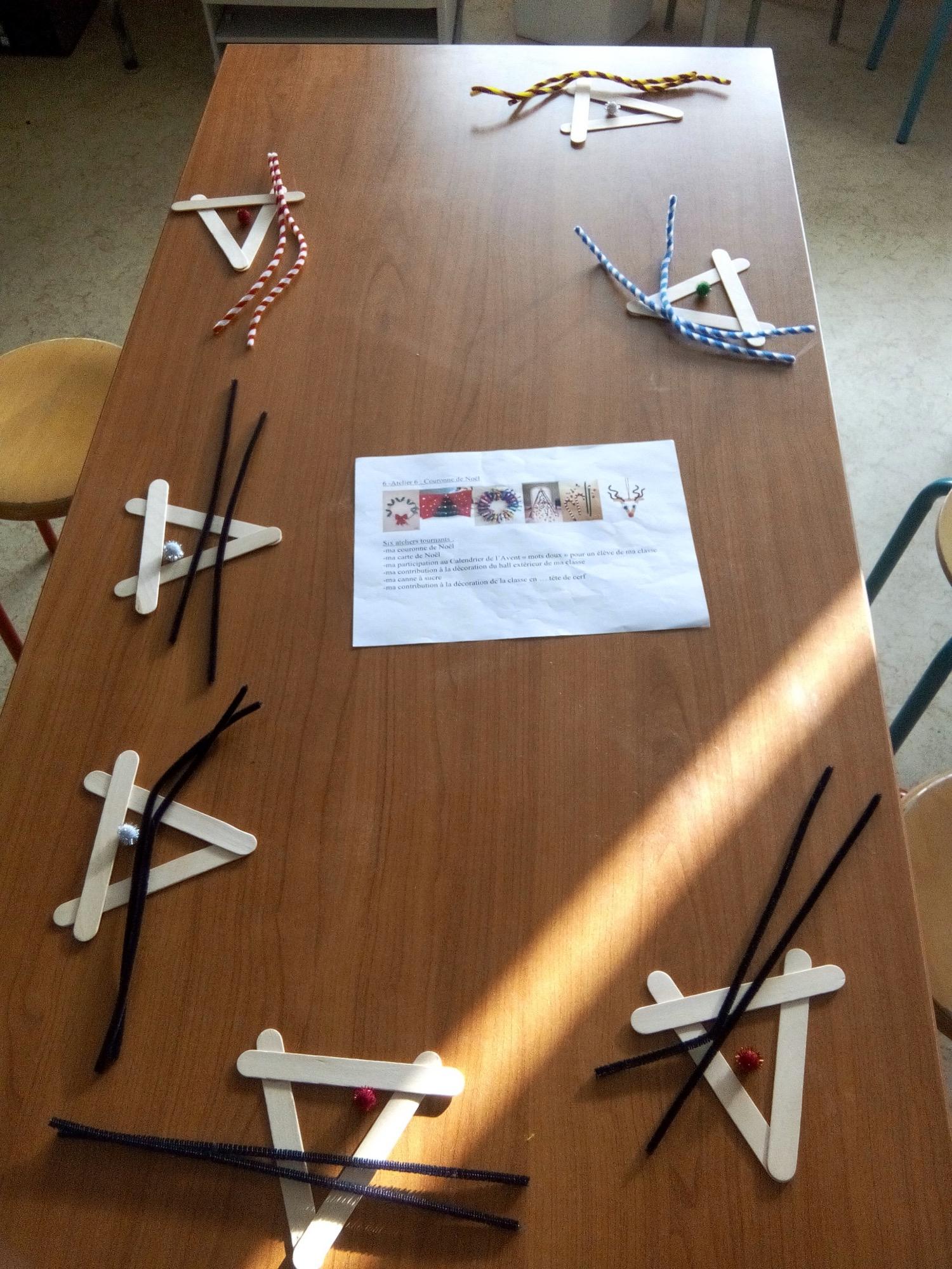 Bricolage De Noël Des Cp Ce1 – Ecole Saint Goulven avec Bricolage Cp Noel