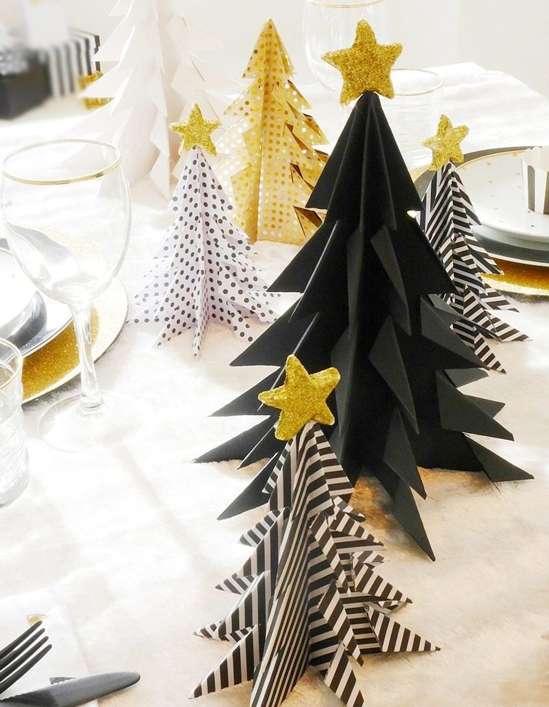 Bricolage De Noël : Des Sapins En Origami - On Se Lance Dans dedans Origami Sapin De Noel