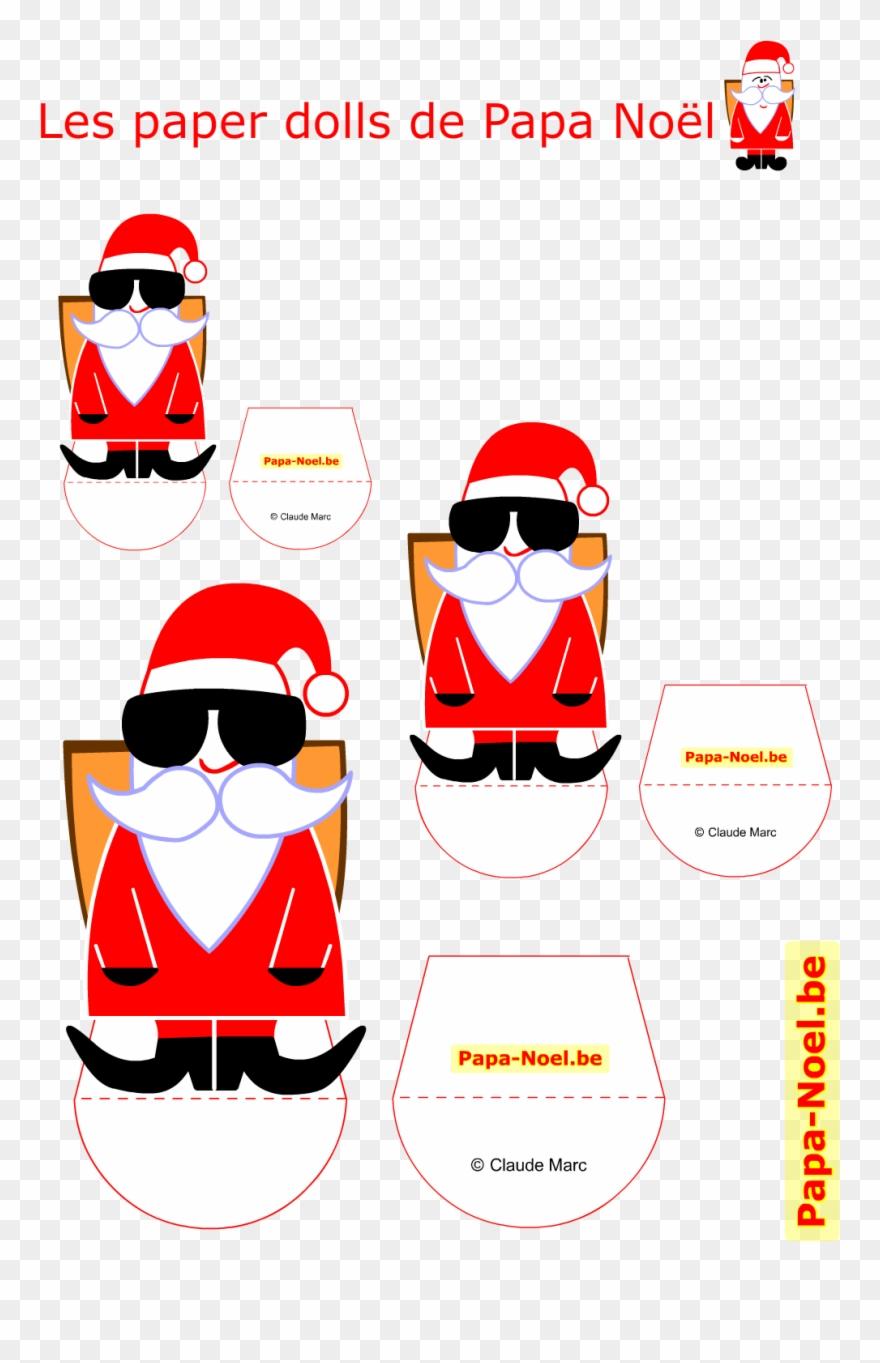 Bricolage De Noel Enfant Imprimer Le Paper Doll Noel avec Etiquette Noel A Imprimer