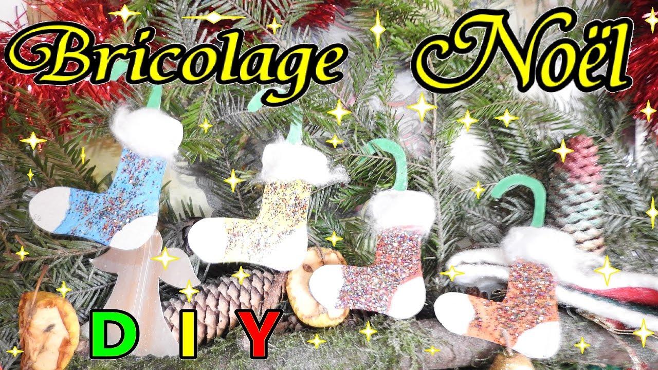 Bricolage De Noël Facile En Papier D'Une Chaussette De Noël encequiconcerne Bricolage Cp Noel