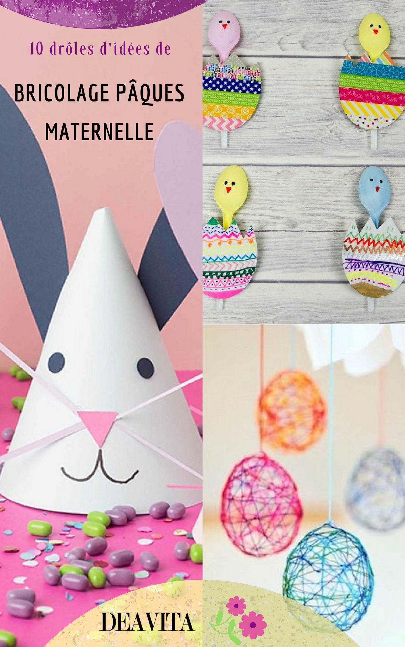 Bricolage Pâques Maternelle - 10 Idées Amusantes | Bricolage dedans Bricolage Pour Paques Maternelle