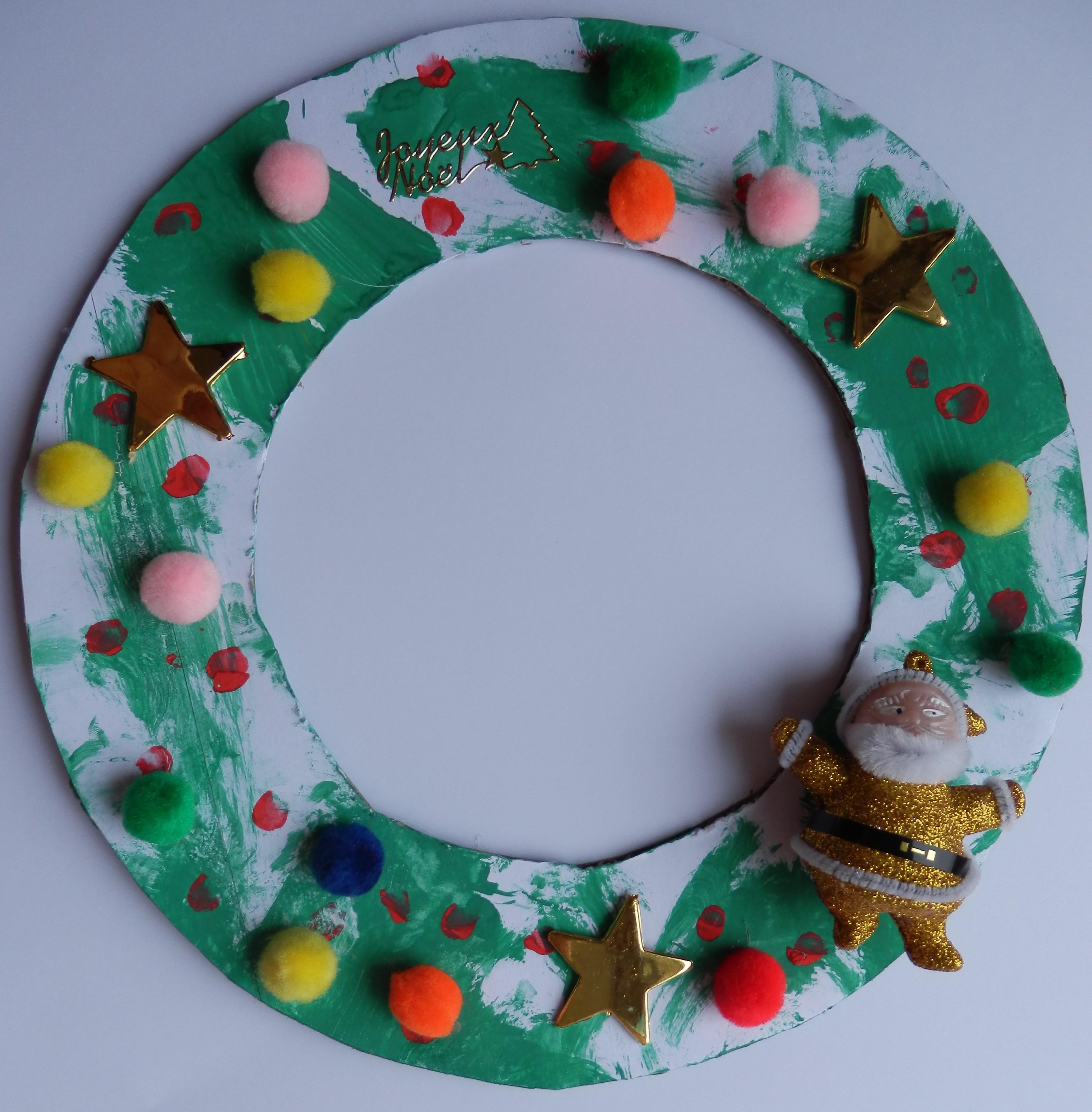 Bricolages De Noël | Assistante Maternelle Agréée À avec Bricolage De Noel Pour Maternelle
