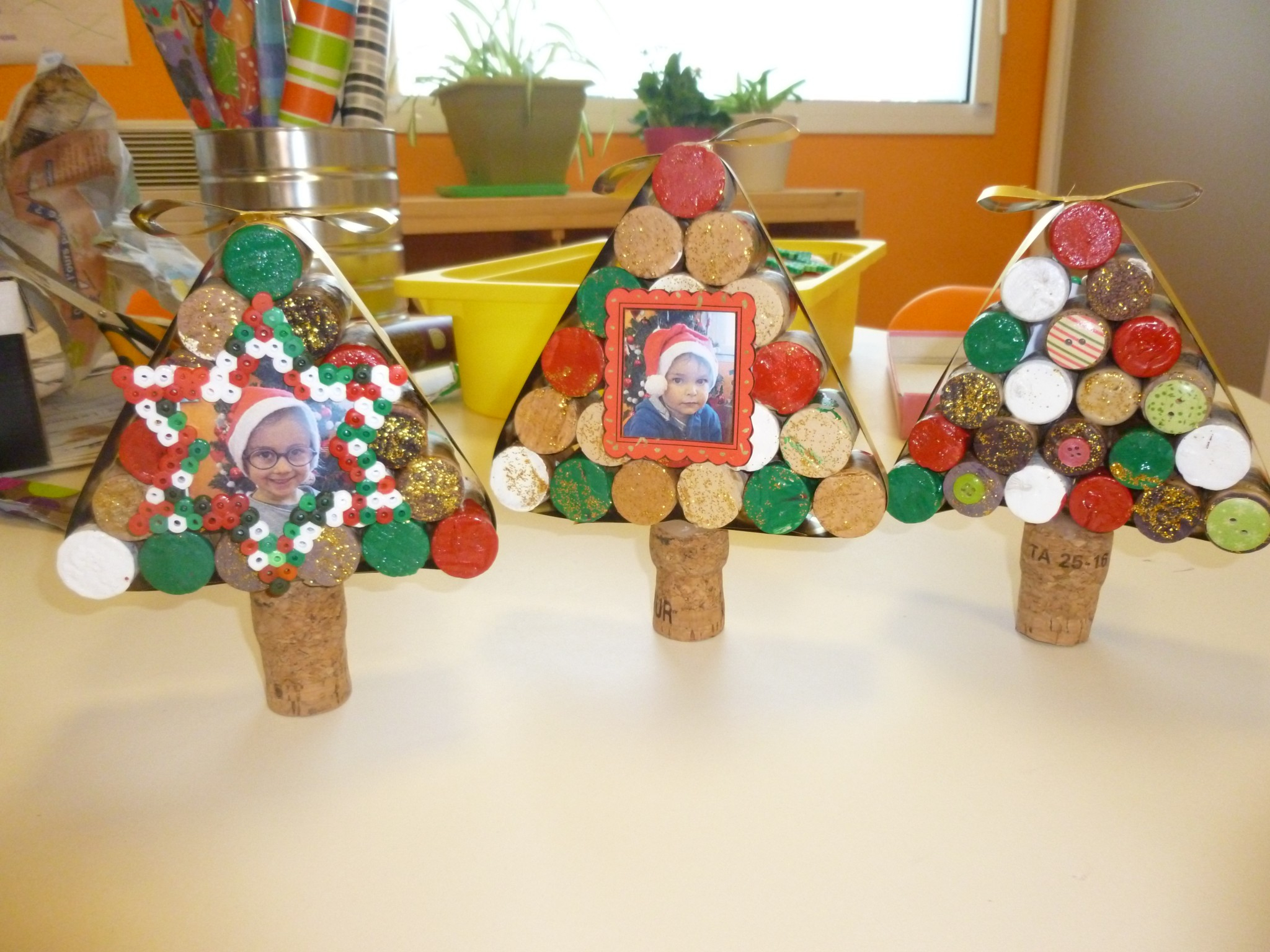 Bricolages De Noël – Ecole St Christophe Chauché intérieur Bricolage Cp Noel