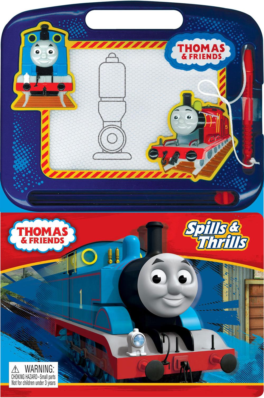 Buy Thomas Le Petit Train: Sur La Bonne Voie - Écrire Et Dessiner For Cad  14.99 | Toys R Us Canada dedans Coloriage Thomas Le Petit Train