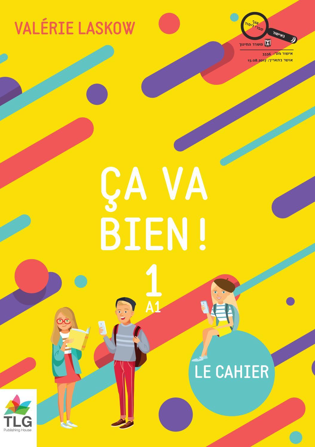 Ça Va Bien 1 - Le Cahier By Addora - Issuu serapportantà Comptine Bonjour Madame Lundi