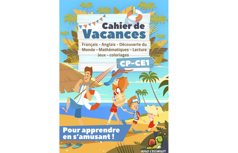 Cahier De Vacances Cp-Ce1 concernant Poésie Vive Les Vacances