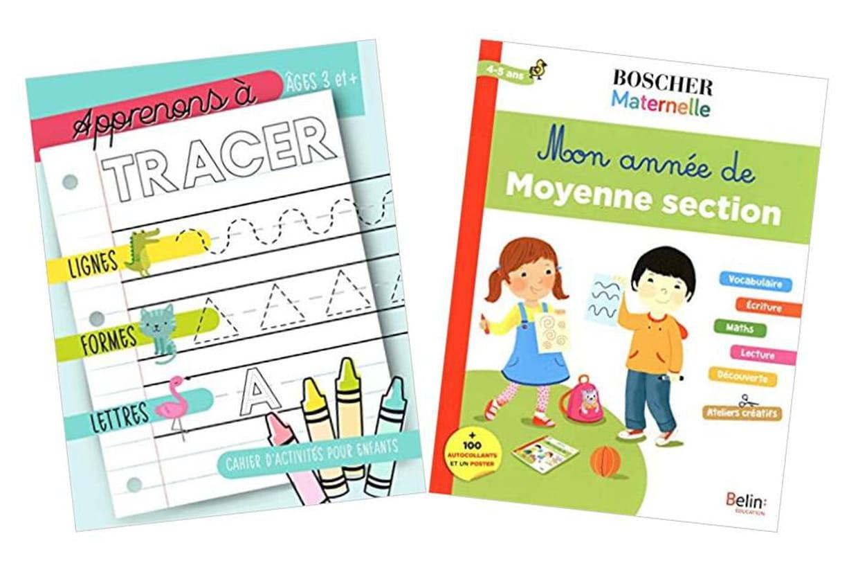 Cahier D'exercice, Coloriage, Lecture, Écriture : Occuper destiné Grande Section Maternelle Age