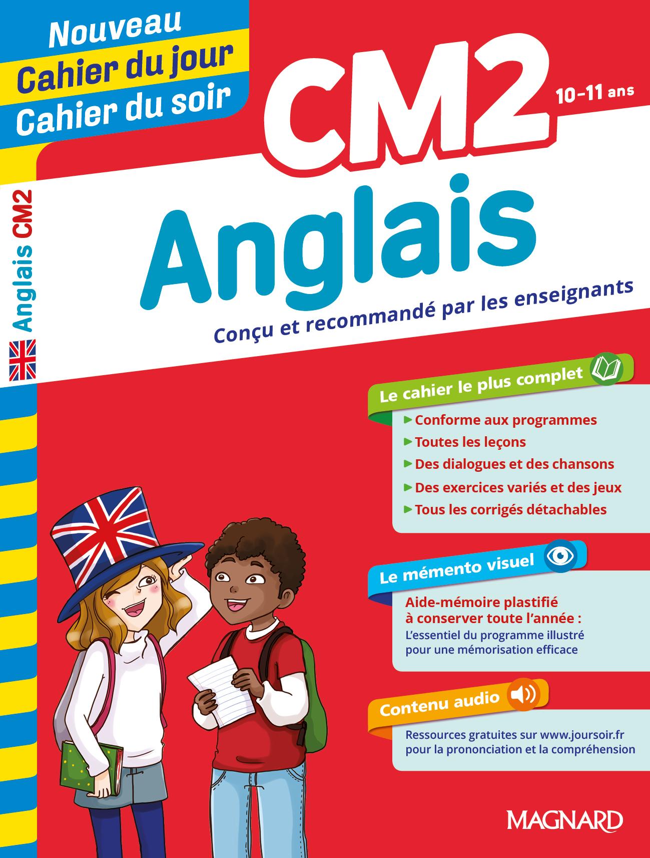 Cahier Du Jour/cahier Du Soir Anglais Cm2 concernant Jeux En Anglais Gratuit