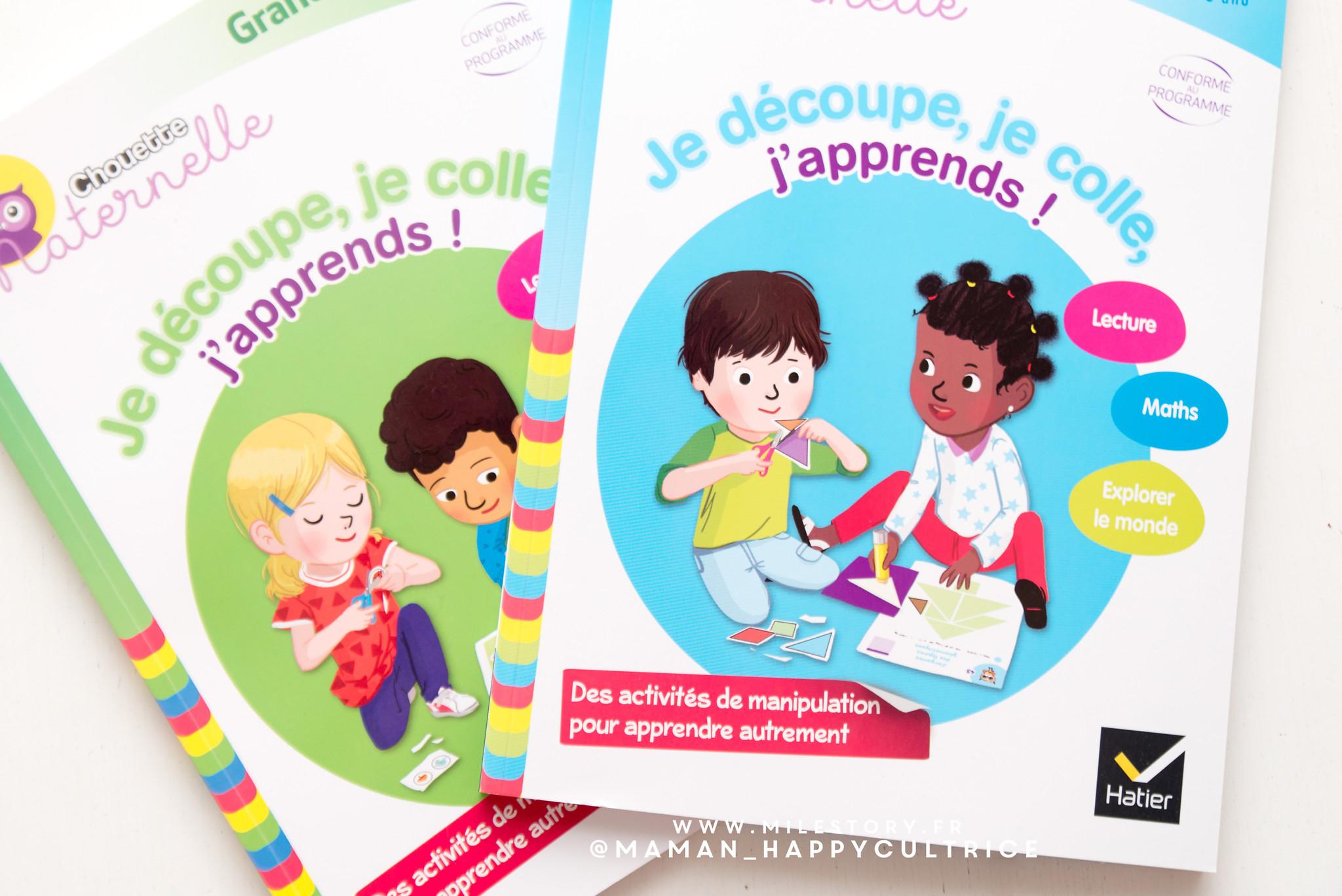 Cahiers D'activités Maternelle Découpe Colle - Milestory dedans Découpage Collage Maternelle À Imprimer