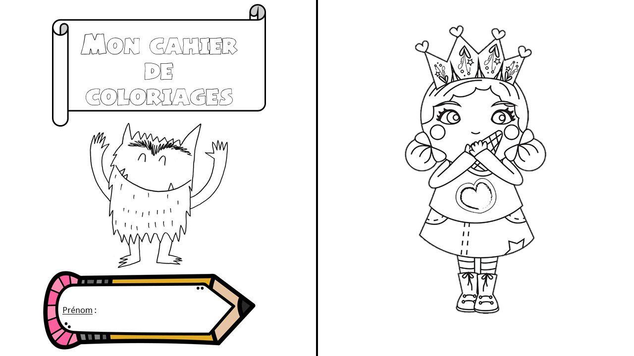 Cahiers De Coloriages - Carolecole.over-Blog intérieur Coloriage Février