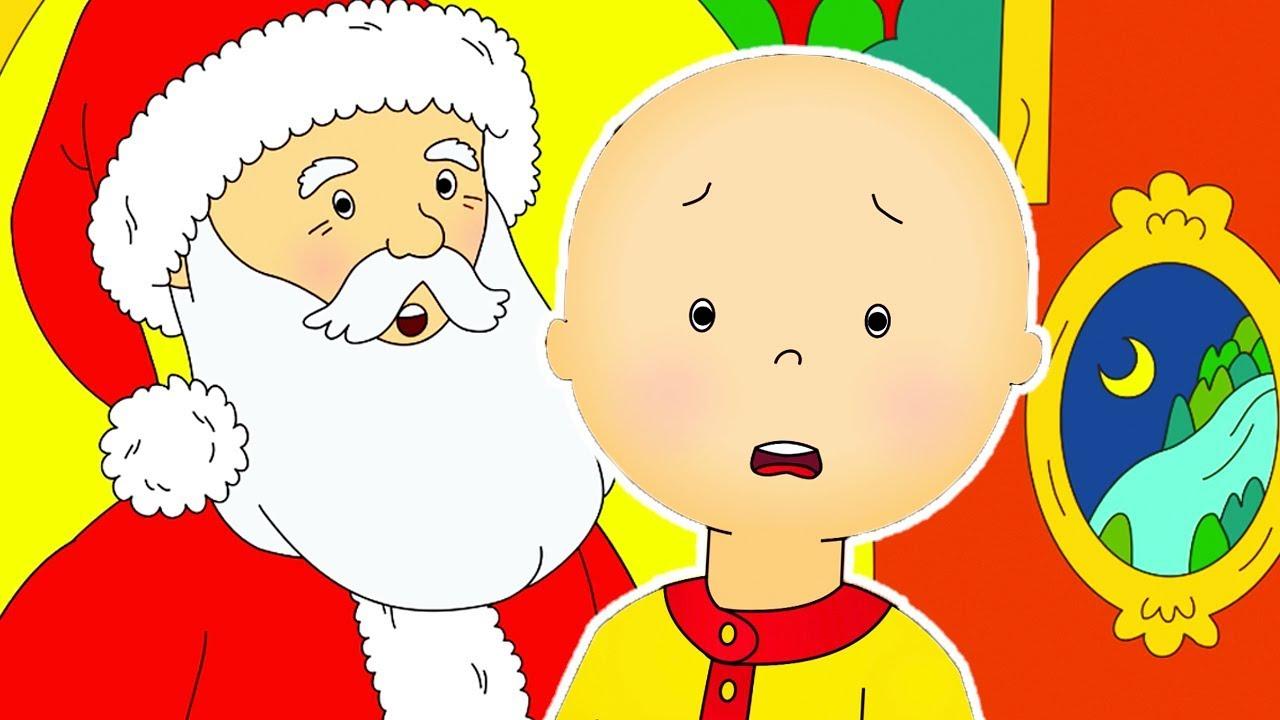 Caillou En Français | Caillou Et Le Père Noël | Dessin Animé | Dessin Animé  Pour Bébé à Caillou Fete Noel
