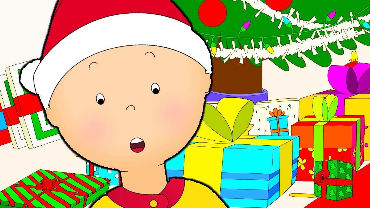 Caillou En Français | Caillou Et Les Surprises De Noël | Dessin Animé |  Dessin Animé Pour Bébé intérieur Caillou Fete Noel