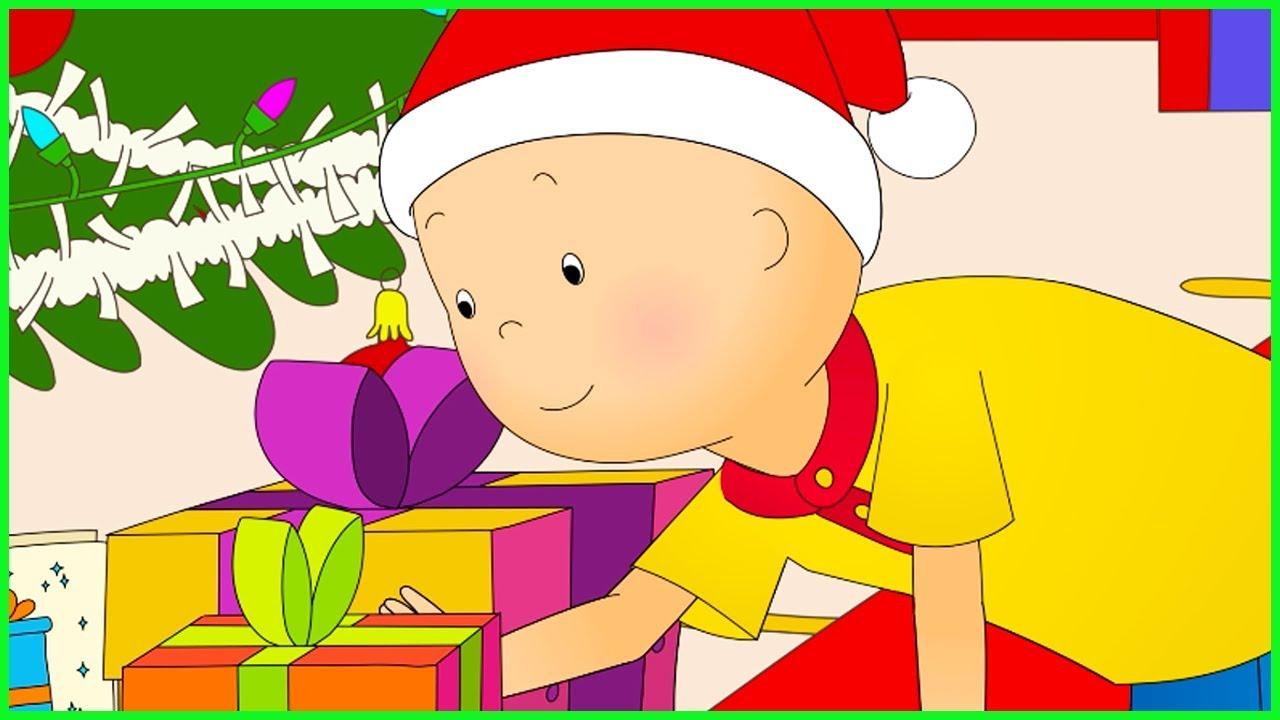 Caillou En Français | Le Cadeau De Noël De Caillou | Dessin Animé En Entier  | Nouvel Épisode 2017 à Caillou Fete Noel