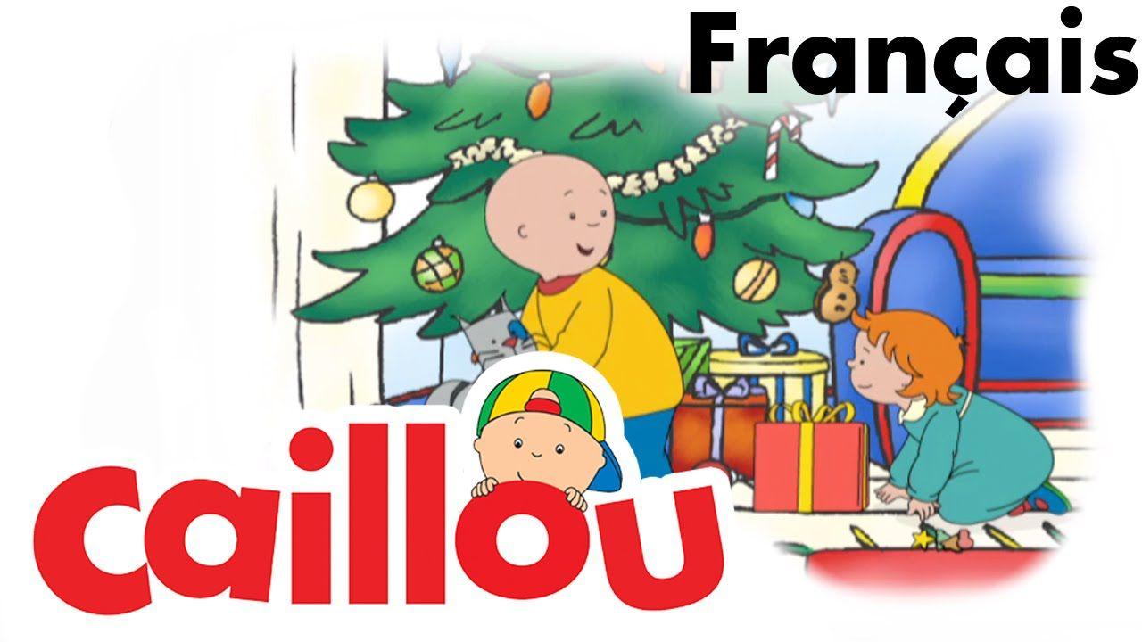 Caillou Français - Caillou Chante Noël (S04E18) 24 Min pour Caillou Fete Noel