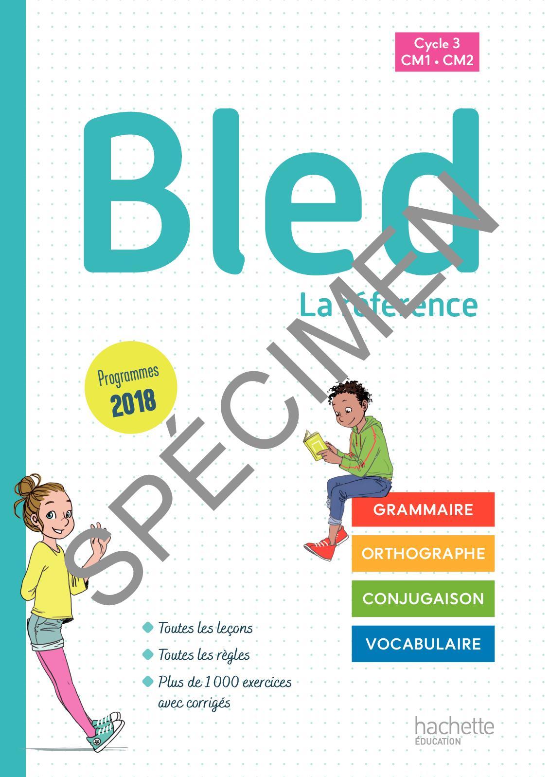 Calaméo - Bled Cm1/cm2 - Édition 2020 destiné Leçon Respiration Cm1
