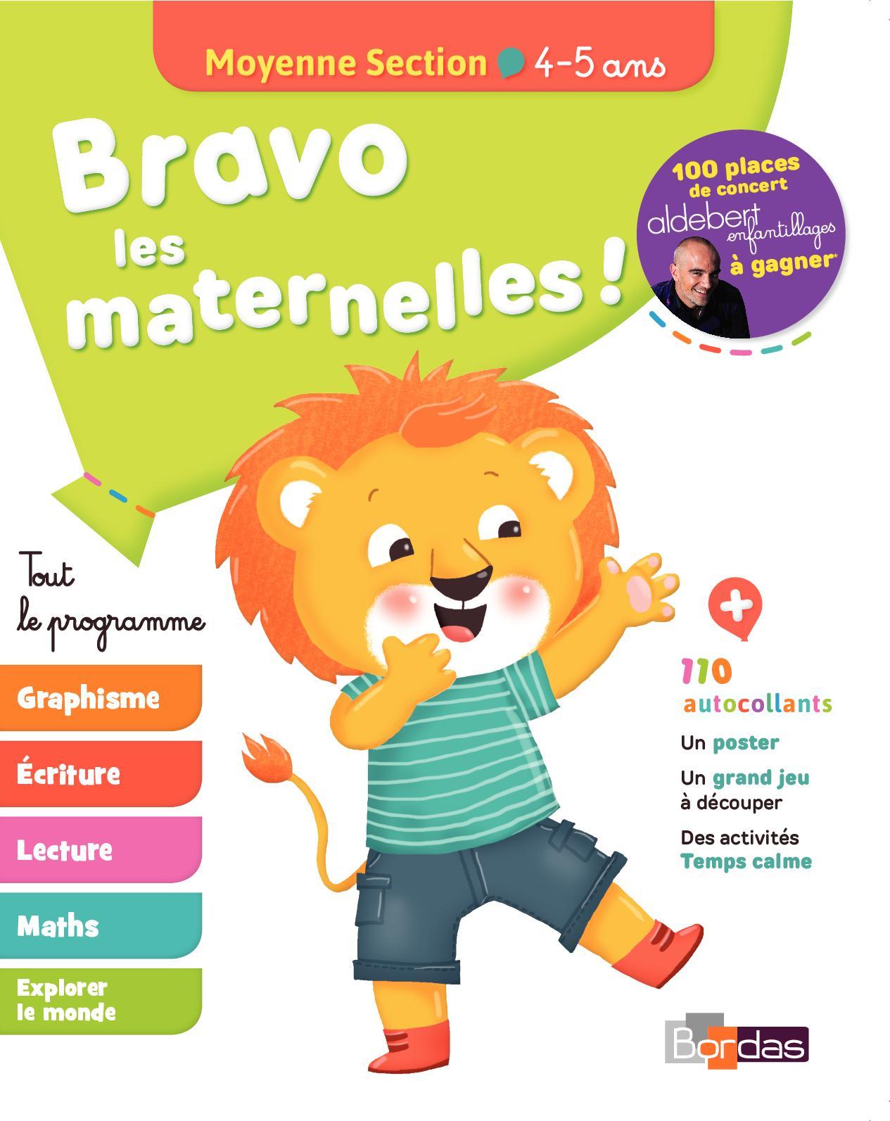 Calaméo - Bravo Les Maternelles Moyenne Section pour Grande Section Maternelle Age