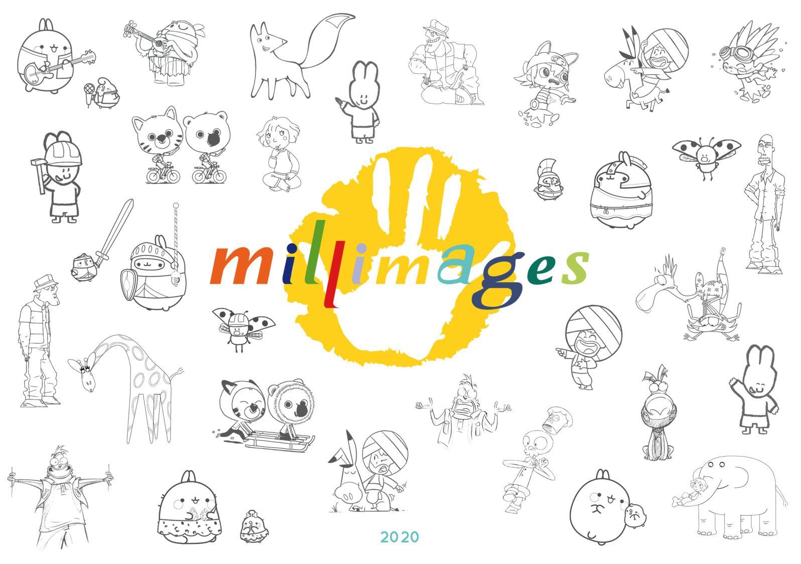 Calaméo - Catalogue 2020_Francais_Millimages intérieur Coloriage Ralph La Casse
