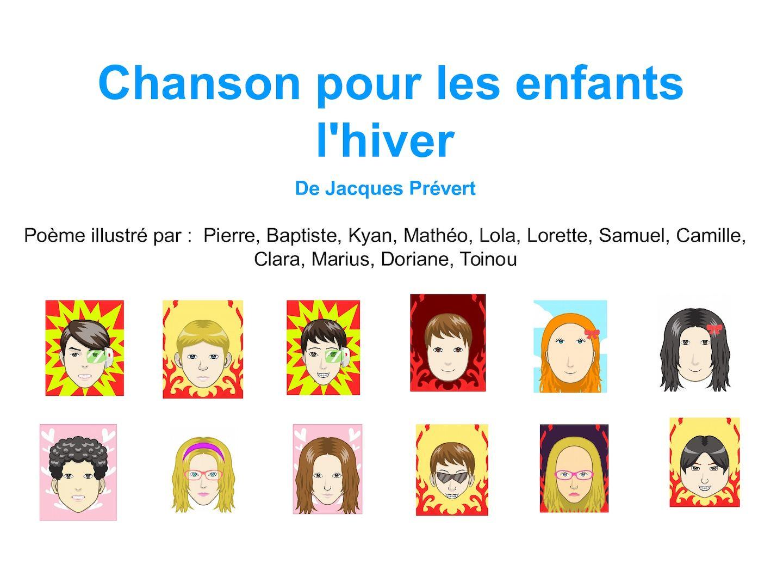 Calaméo - Chanson Pour Les Enfants L'hiver - Groupe Du Mardi serapportantà Dans La Nuit De L Hiver Chanson