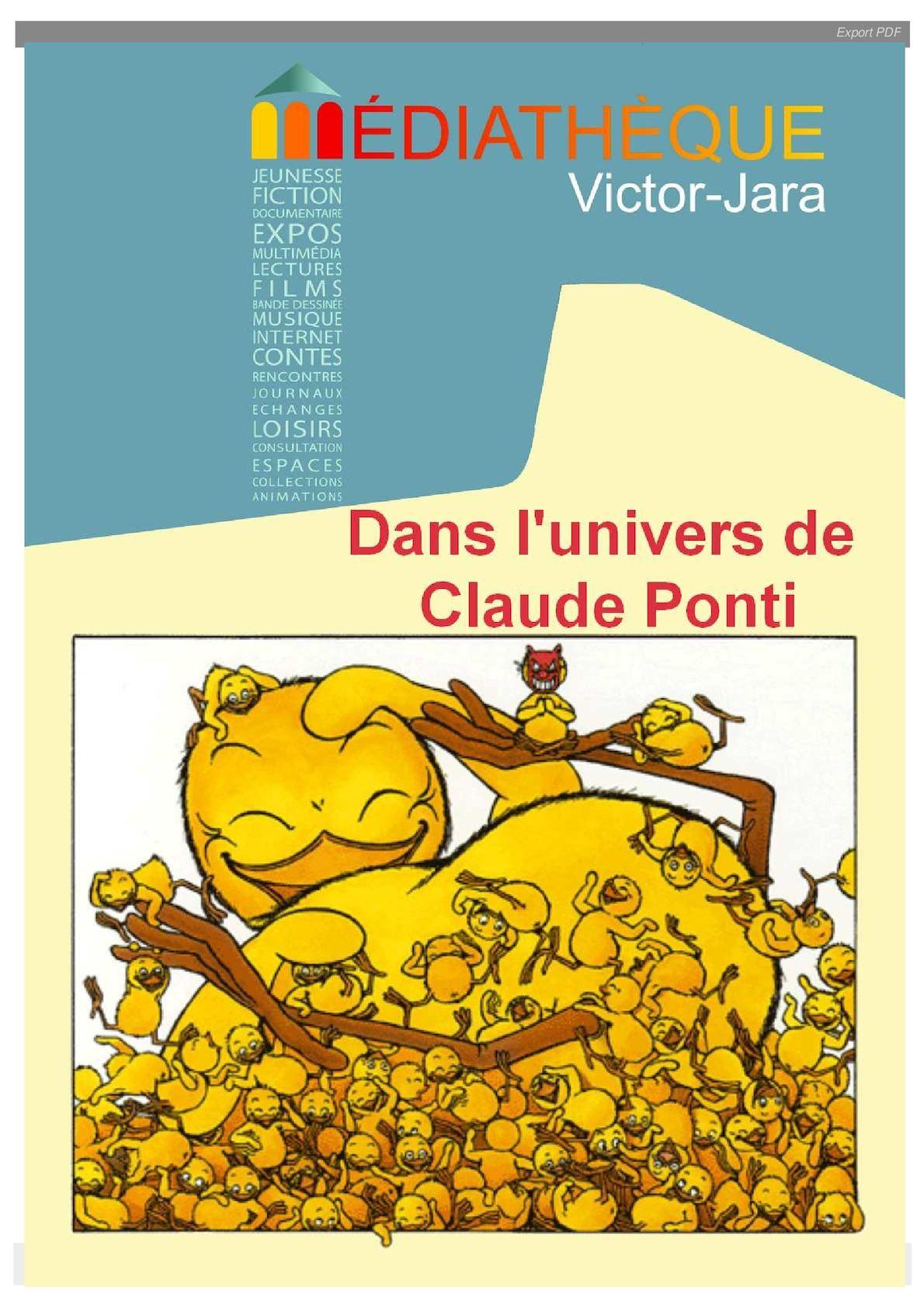 Calaméo - Claude Ponti destiné La Tempête Claude Ponti