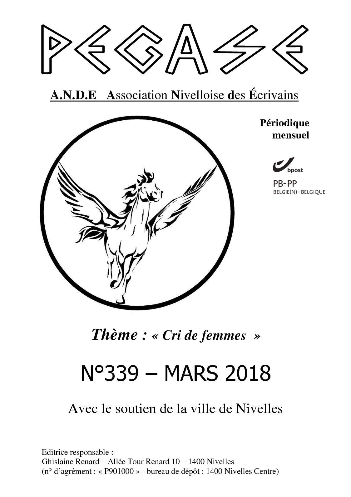 Calaméo - Cri De Femmes 2018-Belgique (Pégase Mars 2018) destiné Mars De Maurice Careme A Imprimer