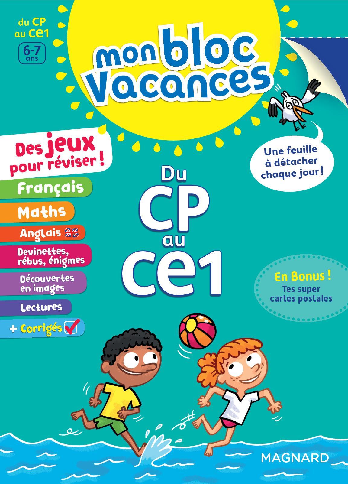 Calaméo - Extrait Bloc Vacances Cp-Ce1 concernant Jeux De Rebus