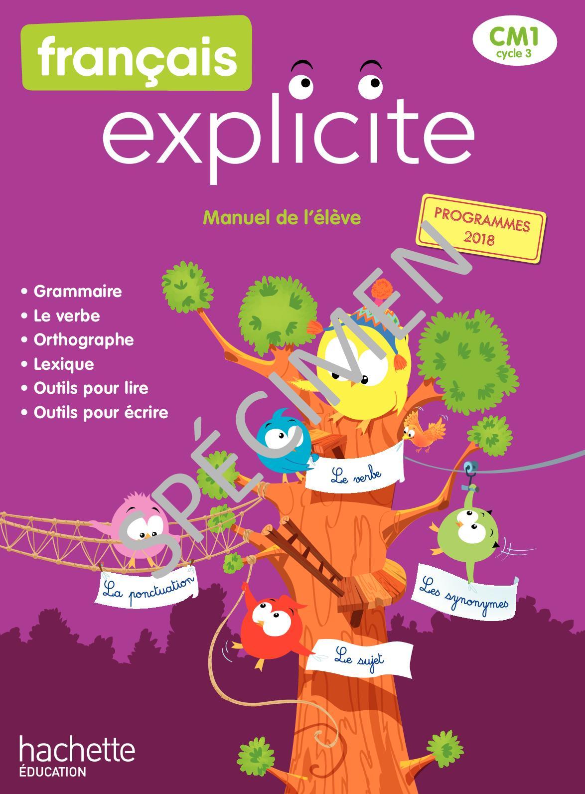 Calaméo - Français Explicite Cm1 - Édition 2020 serapportantà Leçon Respiration Cm1