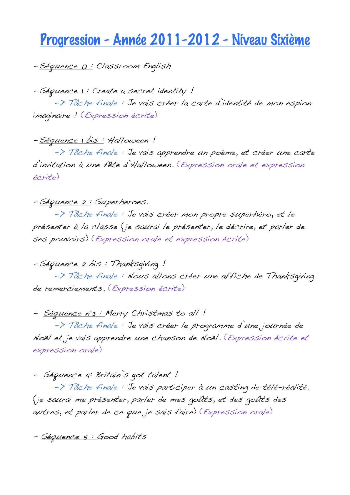 Calaméo - Progression 2011/2012 Tous Niveaux encequiconcerne Chanson De Noel Ecrite