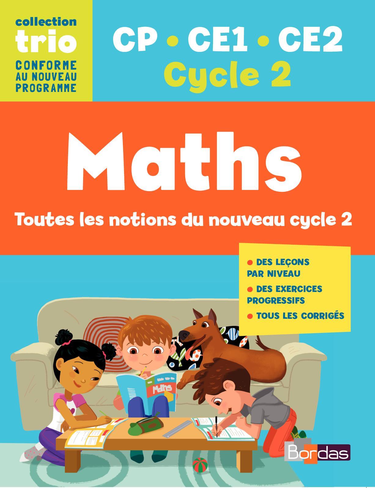 Calaméo - Trio - Maths- Cp- Ce1- Ce2 destiné Nombres Pairs Et Impairs Ce2