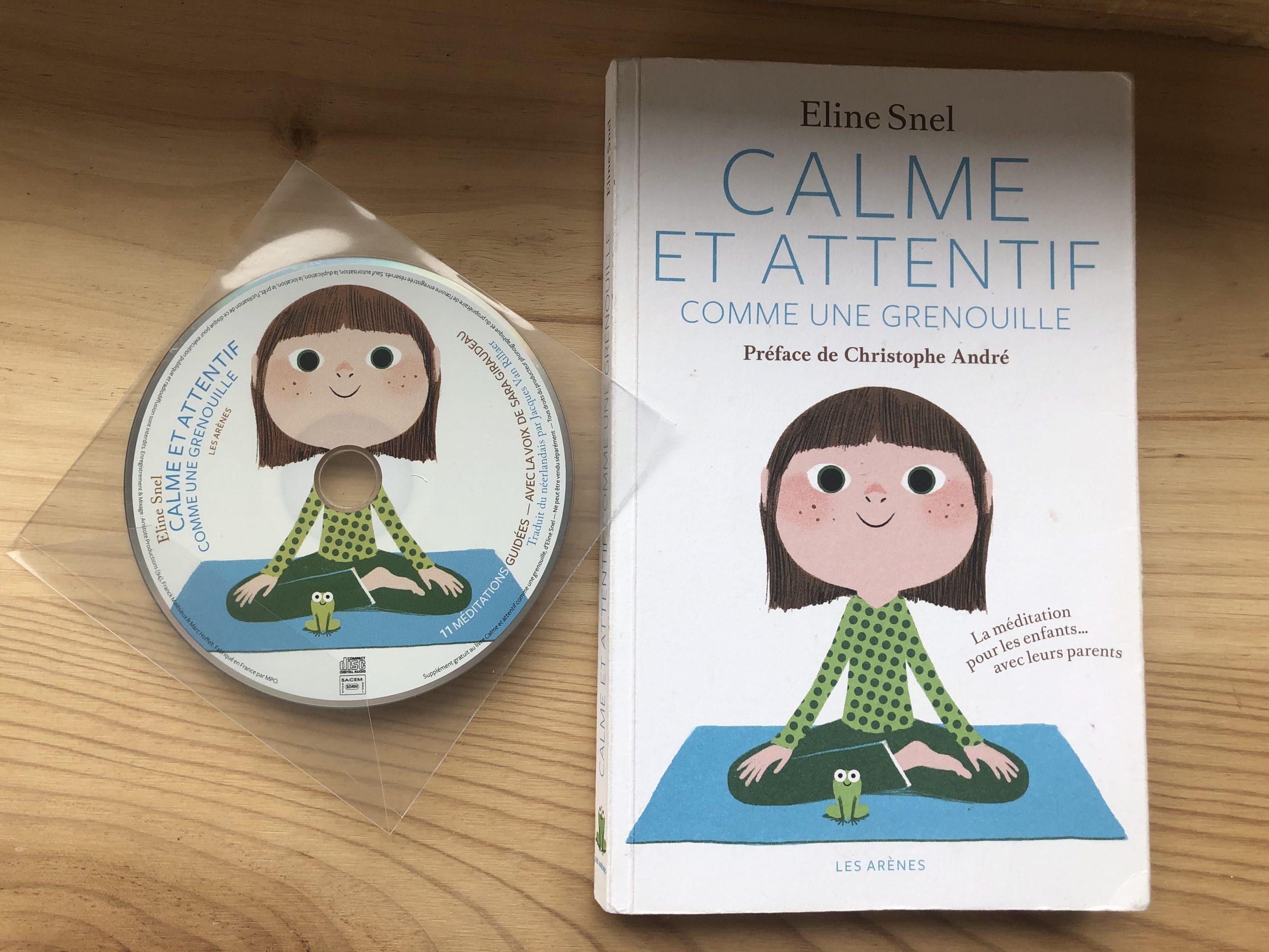 Calme Et Attentif Comme Une Grenouille : La Pleine tout La Grenouille Meditation