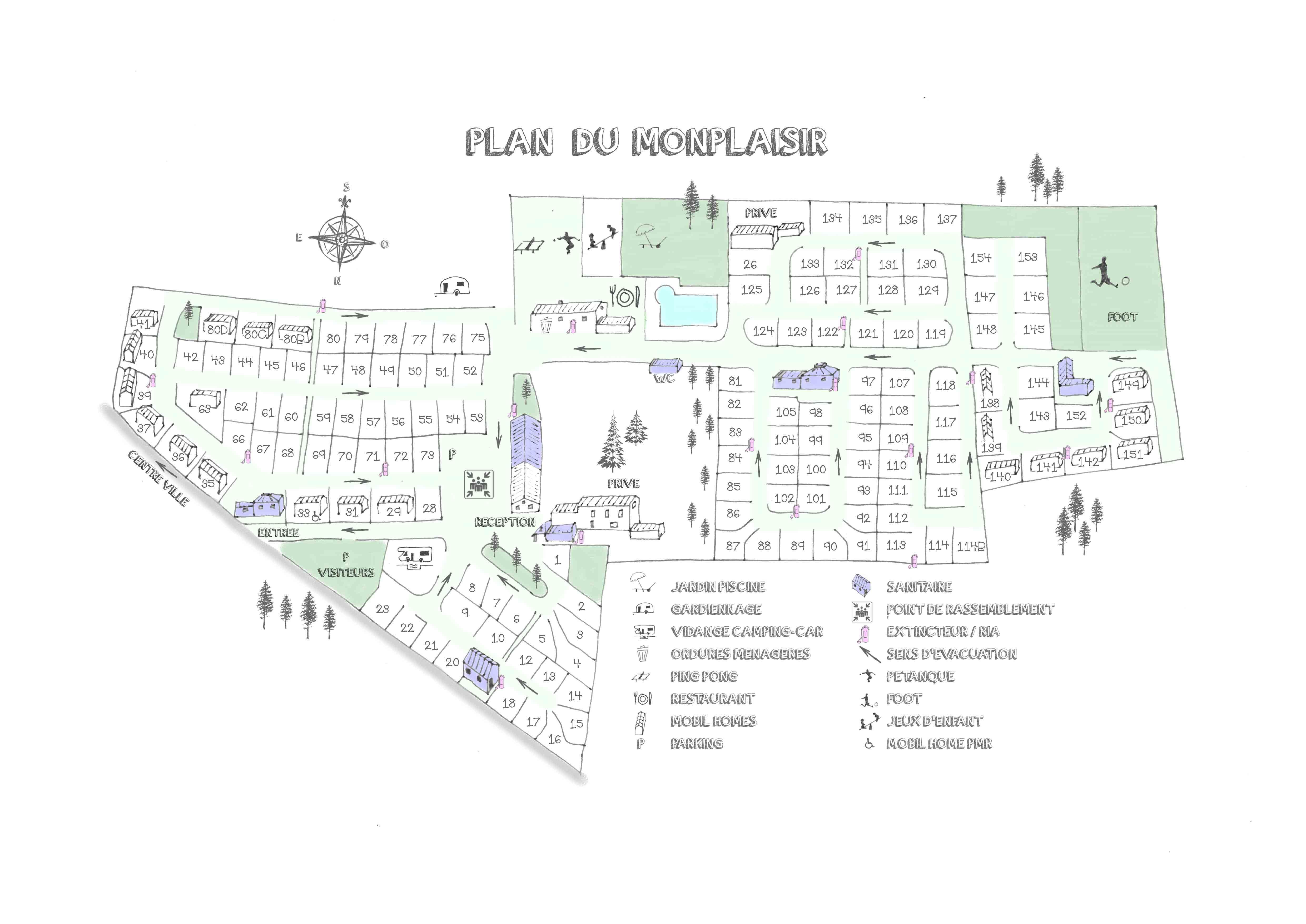 Camping Saint-Rémy-De-Provence | Camping Le Monplaisir 4 tout Le Son F Cp