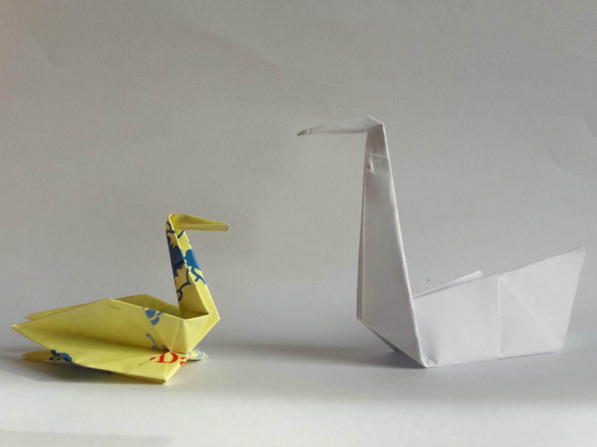 Canard, Origami, - Photo De 7_Origami - Les Petits Choux dedans Origami Canard