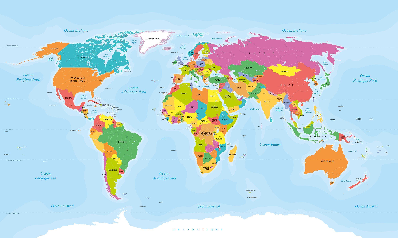Capitales Du Monde Par Pays - Présentation De La Capitale De concernant Carte Europe Avec Capitales