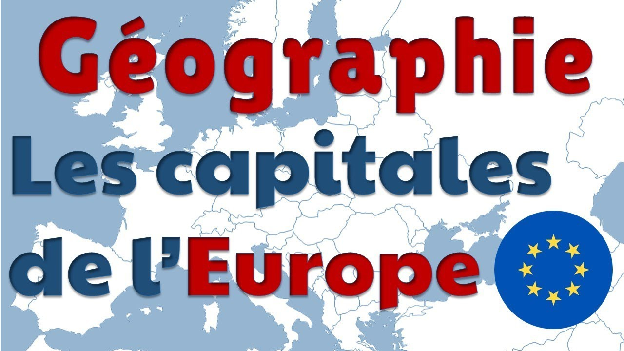 Capitals Of European Countries In French destiné Carte Europe Avec Capitales