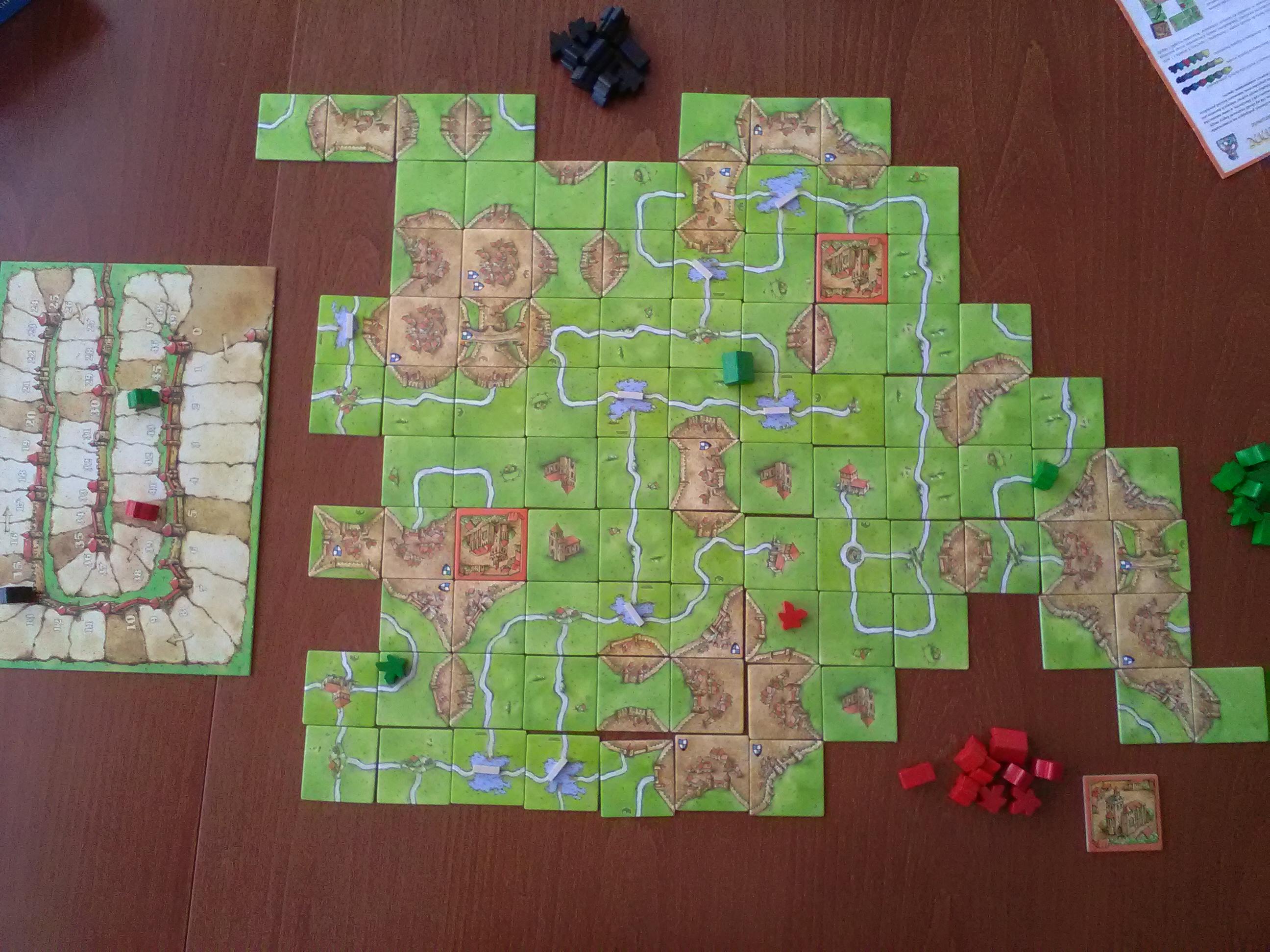 Carcassonne (Jeu) — Wikipédia serapportantà Jeux En Anglais Gratuit