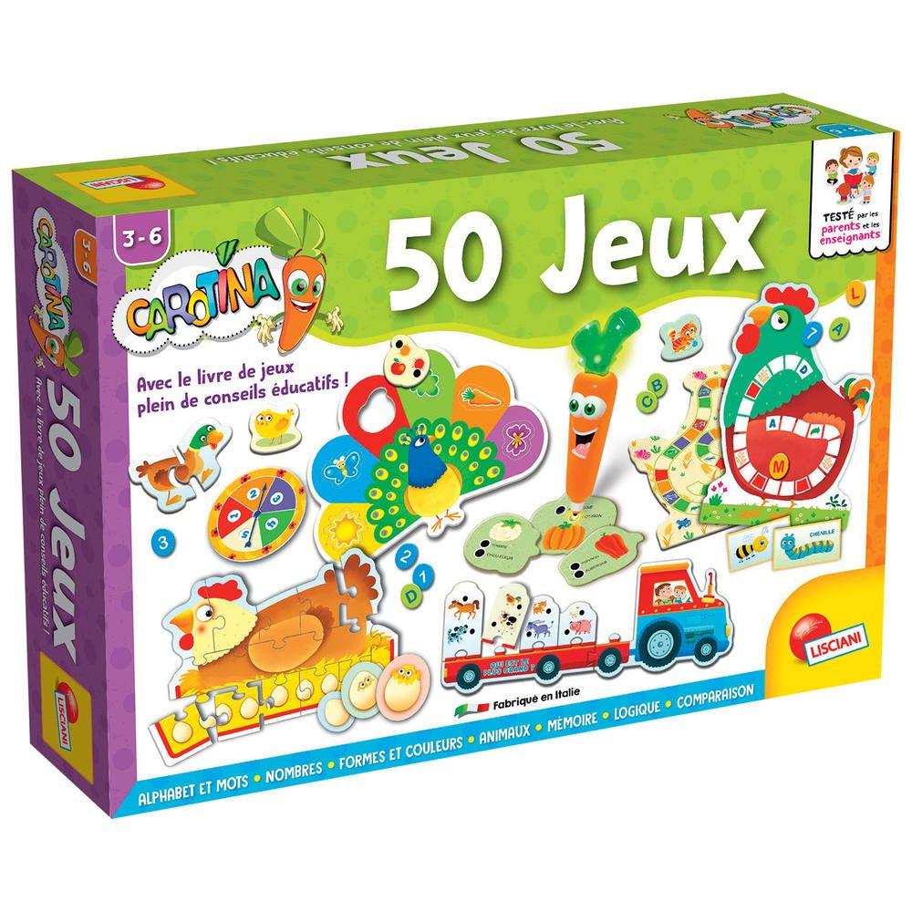 Carotina 50 Jeux avec Jeux Educatif 3 Ans