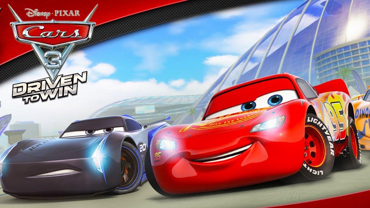Cars 3 Flash Mcqueen Voiture Jeux Vidéo De Dessin Animé En Français -  Course Vers La Victoire #2 pour La Voiture De Course Dessin Animé