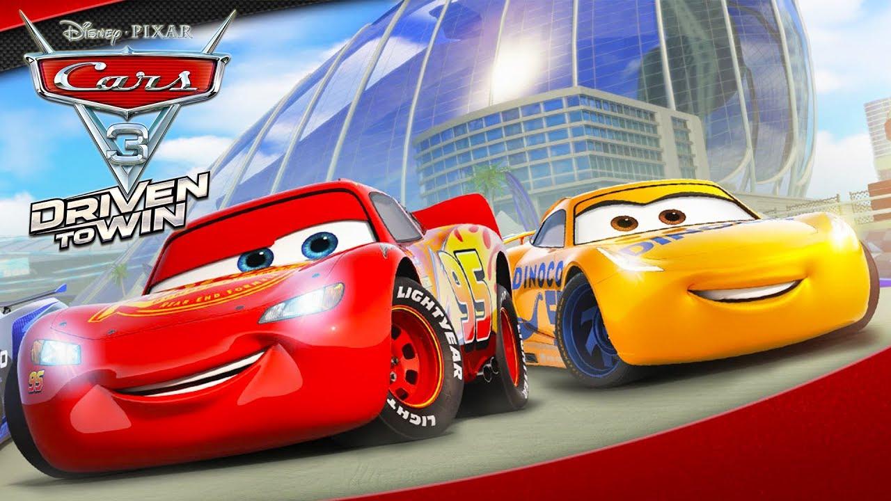 Cars 3 Flash Mcqueen Voiture Jeux Vidéo De Dessin Animé En Français -  Course Vers La Victoire #3 concernant La Voiture De Course Dessin Animé