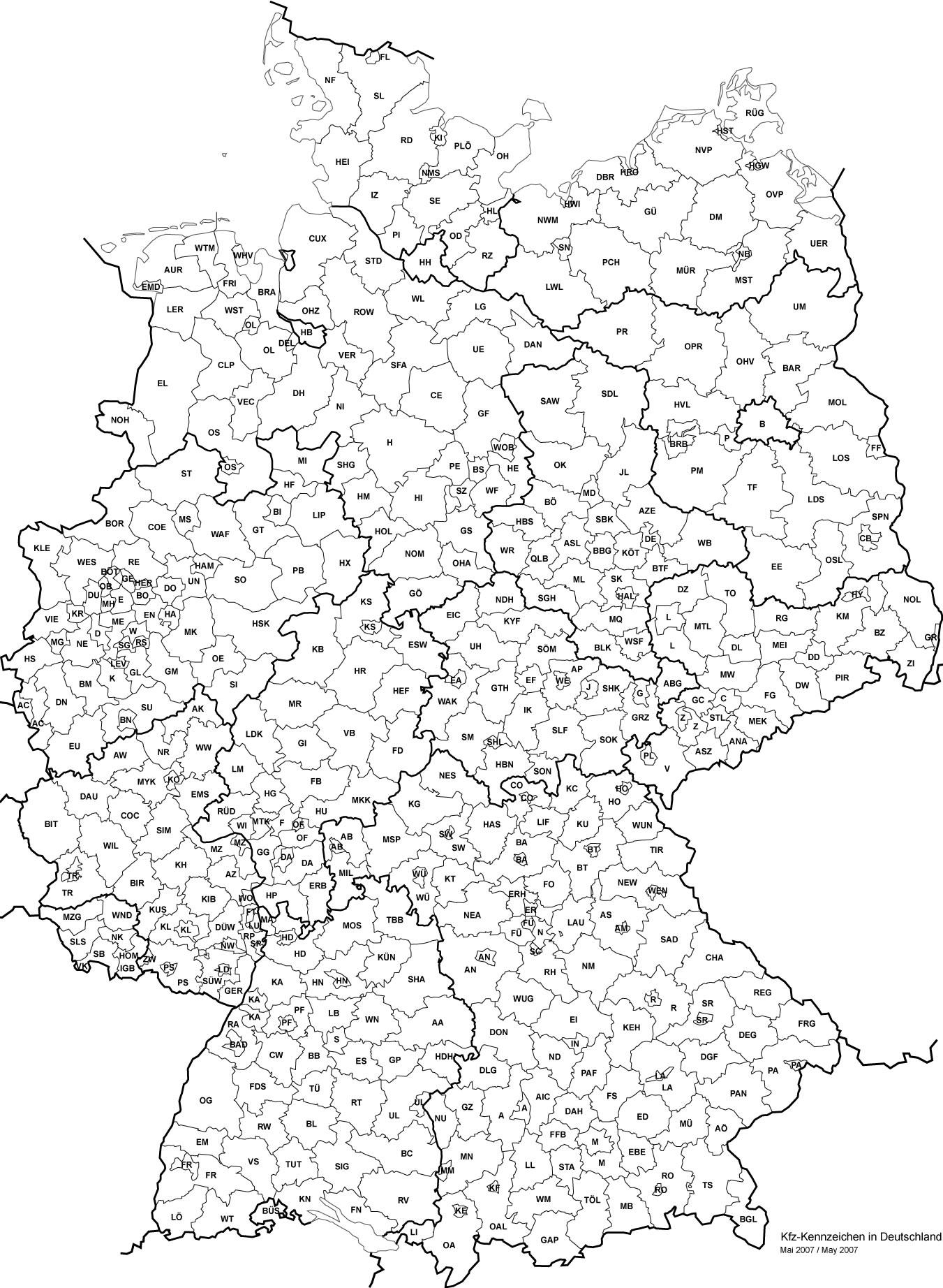 Carte Allemagne Vierge Départements, Carte Vierge Des à Union Européenne Carte Vierge