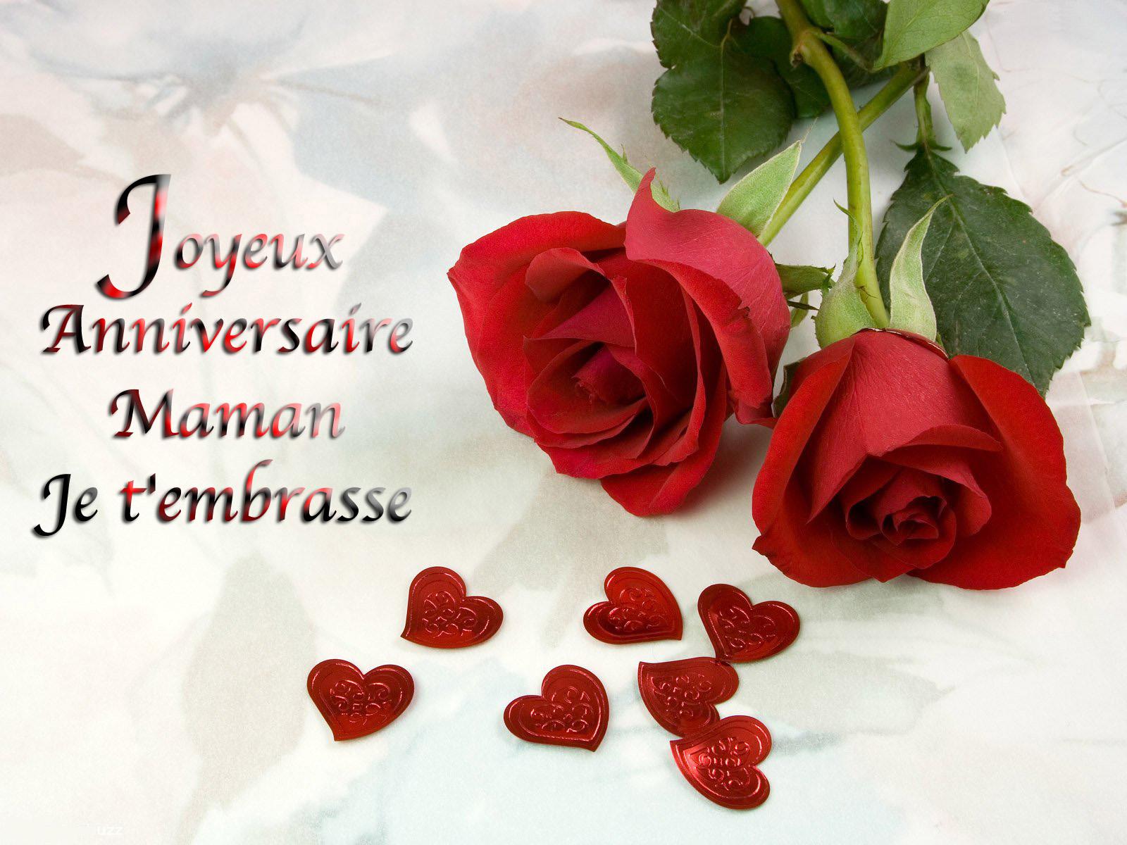 Carte Bonne Anniversaire Maman Imprimer   Wizzyloremaria Web dedans Carte Bonne Fete Maman A Imprimer