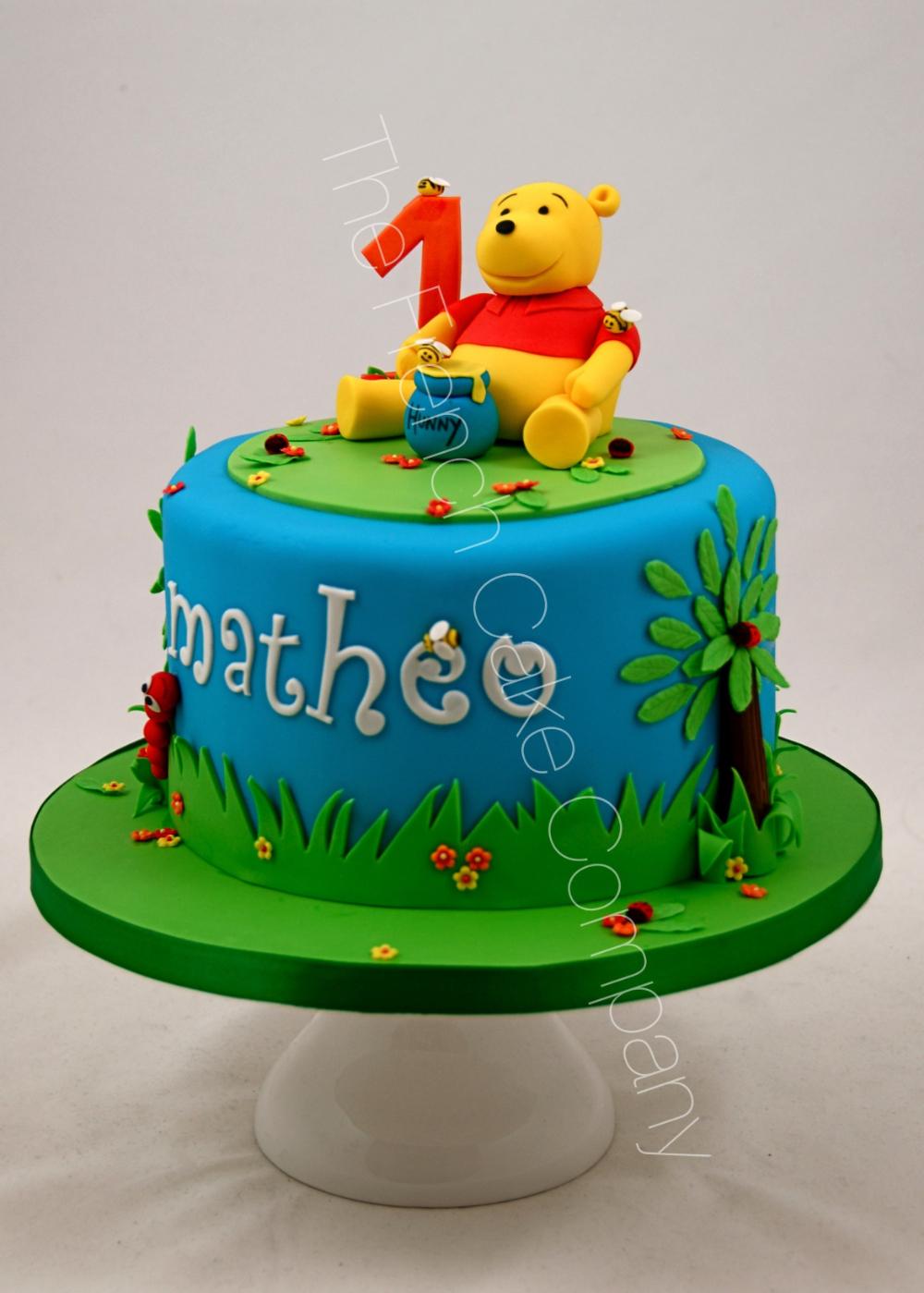 Carte D'anniversaire Winnie L'ourson A Imprimer Unique encequiconcerne Gateau Anniversaire Winnie L Ourson