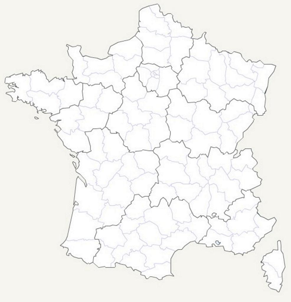 Carte De France Des Régions En Haute Qualité (Hq) tout Carte Des Régions Vierge