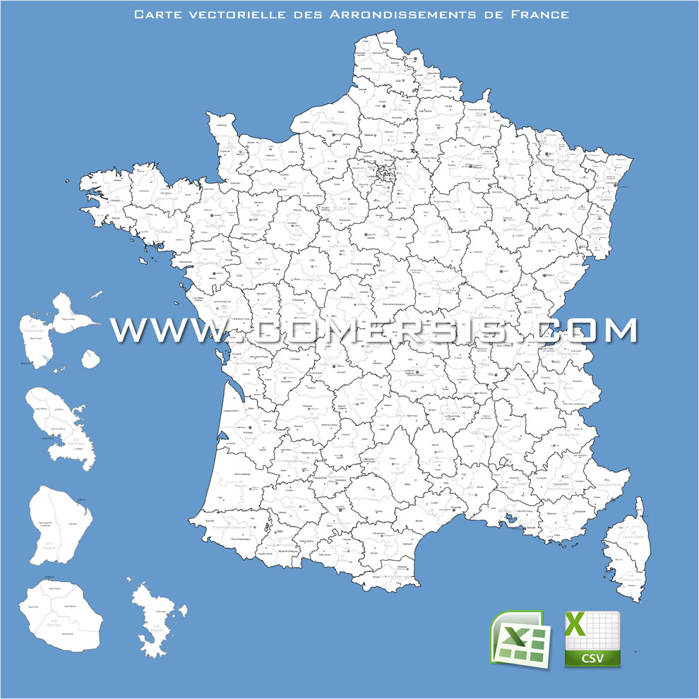 Carte De France intérieur Carte Numero Departement