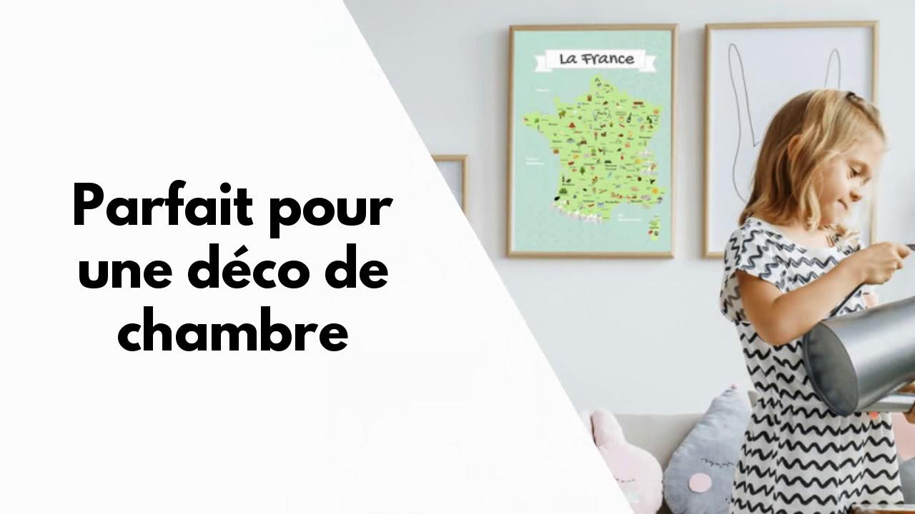 Carte De France Pour Enfants serapportantà Carte De France Pour Les Enfants