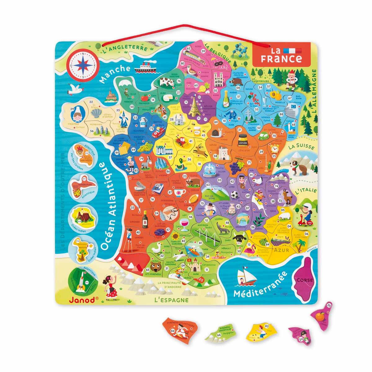 Carte De France Pour Les Enfants | My Blog à Carte De France Pour Les Enfants